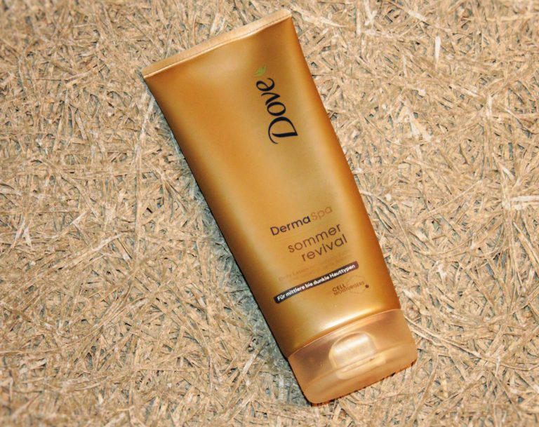 dove dermaspa summer revival self-tanner
