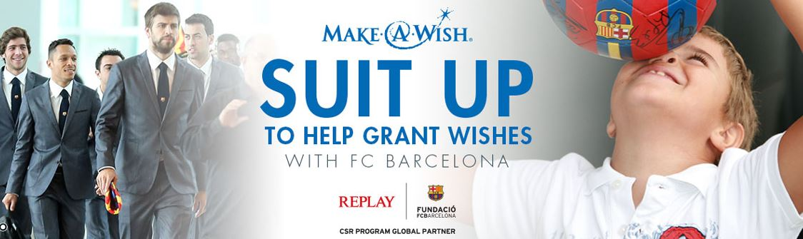 Make-A-Wish® - FC Barcelona Fanartikel Auktion
