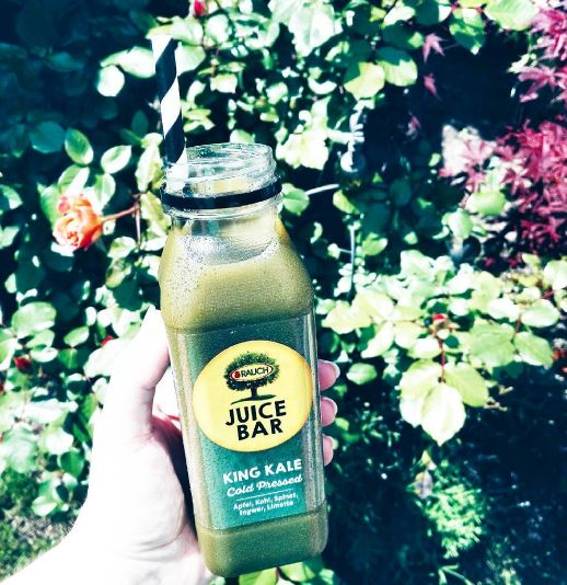 rauch juice bar king kale