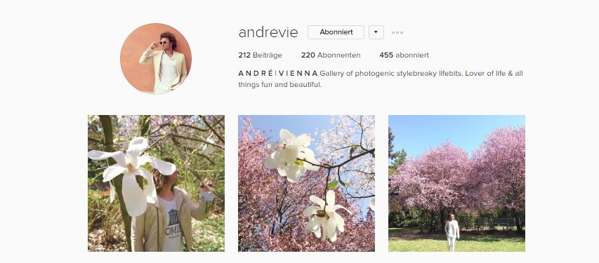 Top 3 Instagram Feeds Andrevie