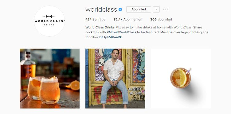 Top 3 Instagram Feeds worldclass
